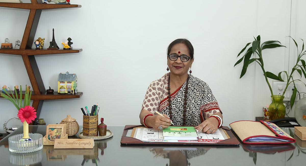 Admin Head Mrs Nandita Ganguly