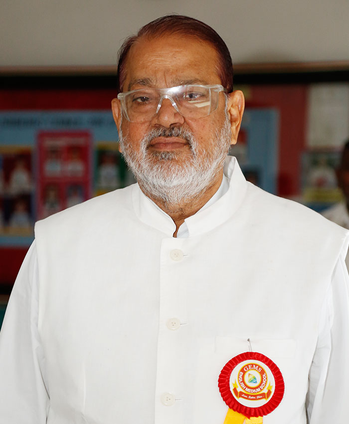 Founder Dr Balasaheb Aher